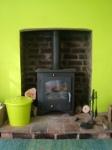 Green room stove