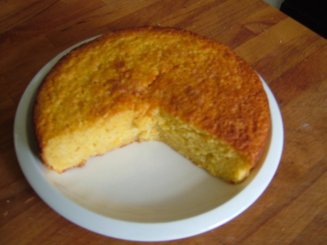 Easy whole orange cake recipe