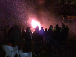 Vicarage Fireworks