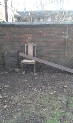 Some unusual churchyard furnishings