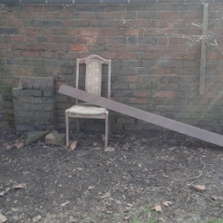 Some unusual churchyard furnishings