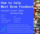 Help West Brom Foodbank