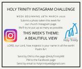 Holy Trinity Instagram Challenge